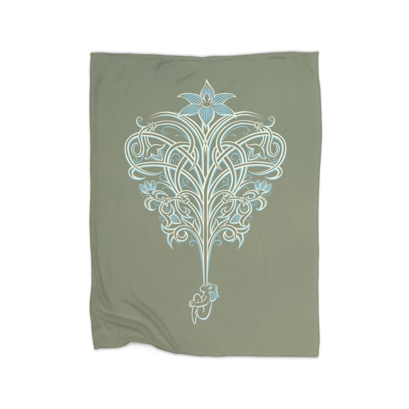 Greenman Home Blanket by Supersticery Shop