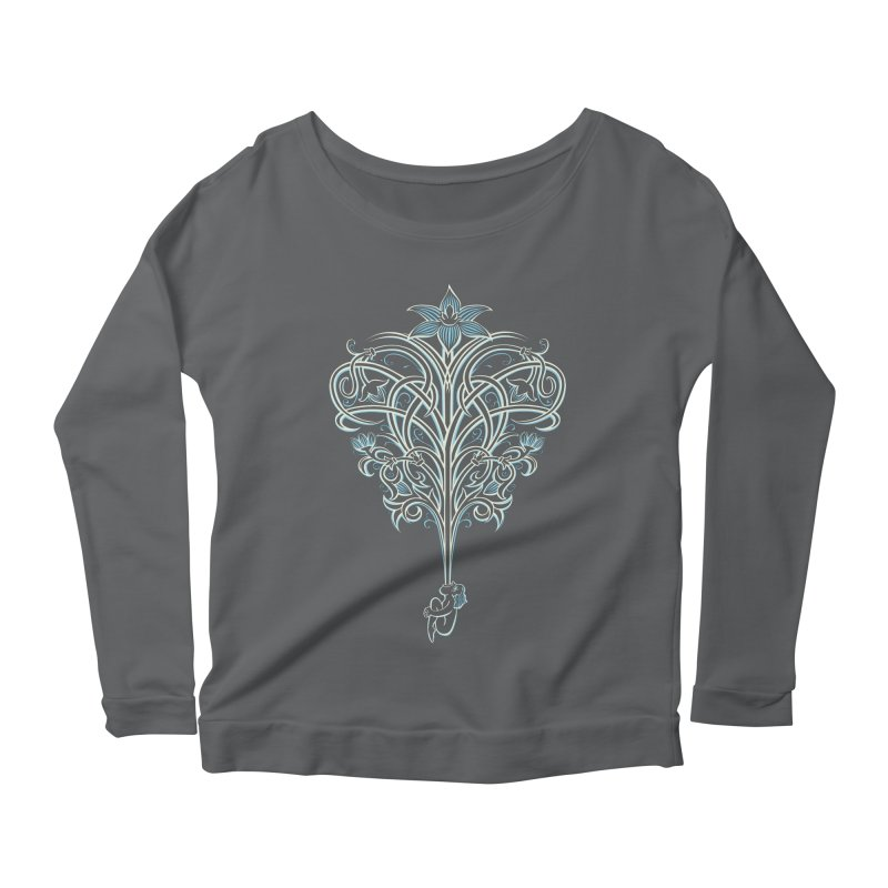 Greenman Women's Scoop Neck Longsleeve T-Shirt by Supersticery Shop