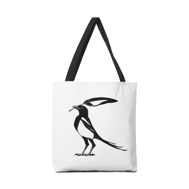 the Scribe in Tote Bag by Supersticery Shop