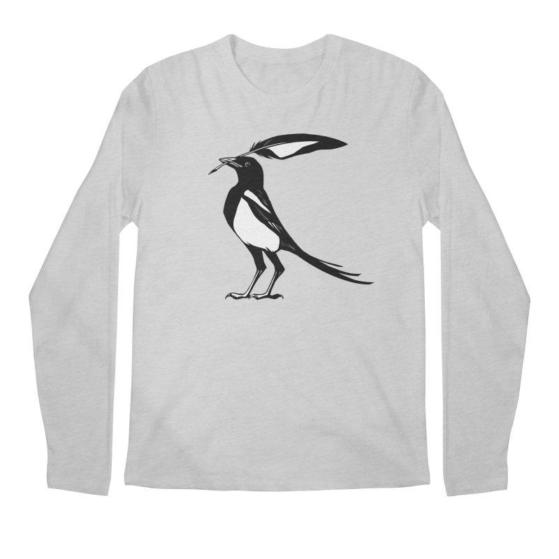 the Scribe Men's Regular Longsleeve T-Shirt by Supersticery Shop