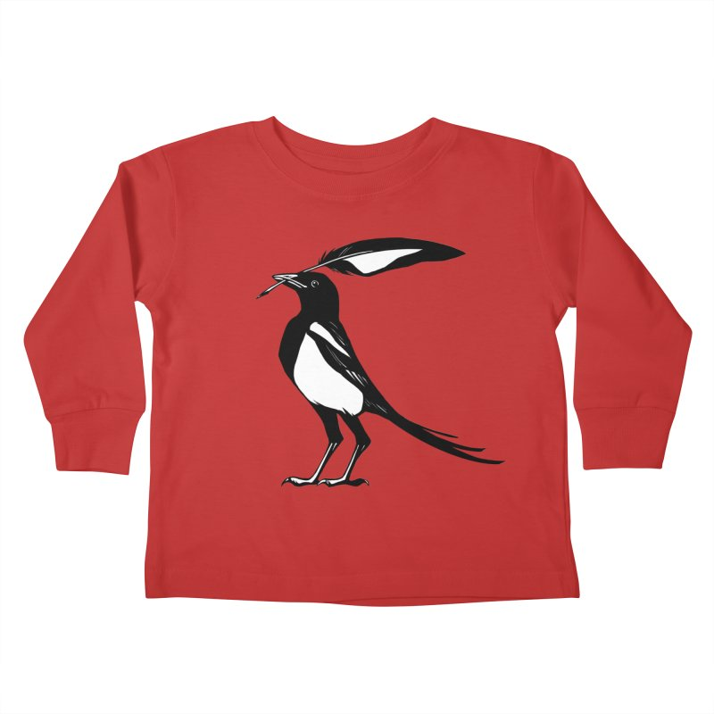 the Scribe Kids Toddler Longsleeve T-Shirt by Supersticery Shop