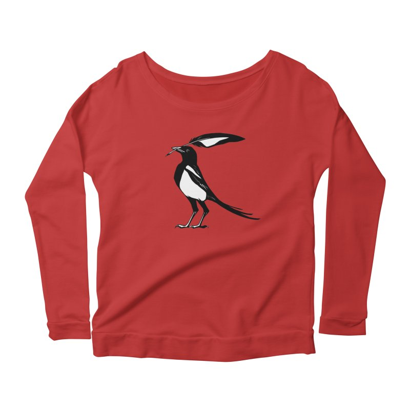 the Scribe Women's Scoop Neck Longsleeve T-Shirt by Supersticery Shop