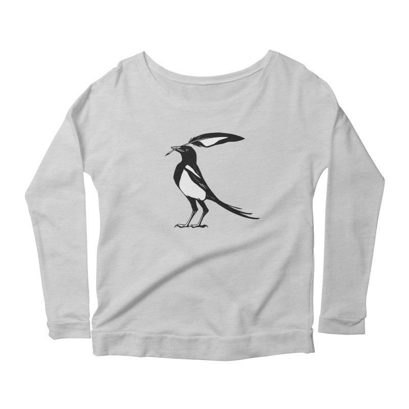 the Scribe Women's Longsleeve Scoopneck  by Supersticery Shop