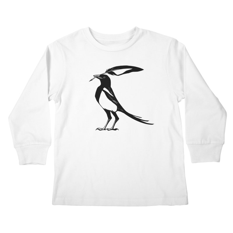 the Scribe Kids Longsleeve T-Shirt by Supersticery Shop