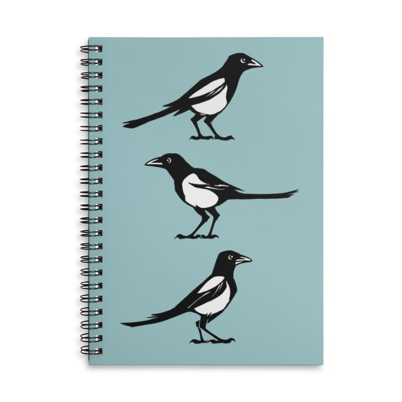 a Tiding in Lined Spiral Notebook by Supersticery Shop