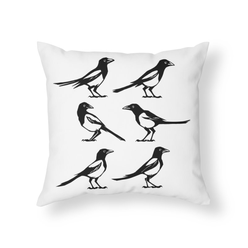 a Tiding Home Throw Pillow by Supersticery Shop