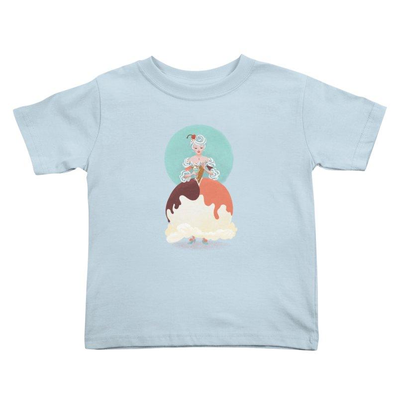 Parfait Princess Kids Toddler T-Shirt by Supersticery Shop