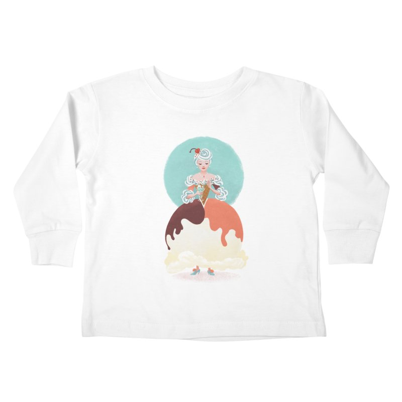 Parfait Princess Kids Toddler Longsleeve T-Shirt by Supersticery Shop
