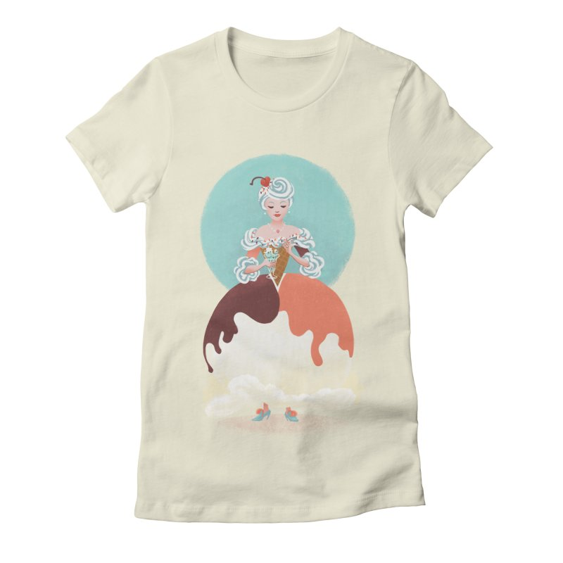 Parfait Princess Women's Fitted T-Shirt by Supersticery Shop