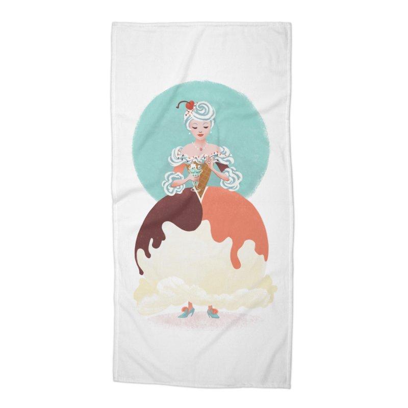 Parfait Princess Accessories Beach Towel by Supersticery Shop