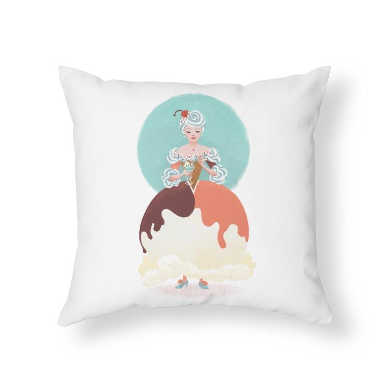 Parfait Princess Home Throw Pillow by Supersticery Shop