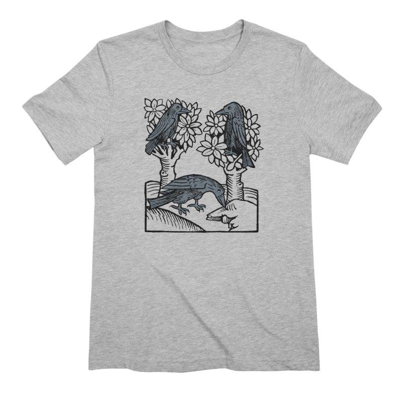 3 Ravens Men's Extra Soft T-Shirt by Supersticery Shop