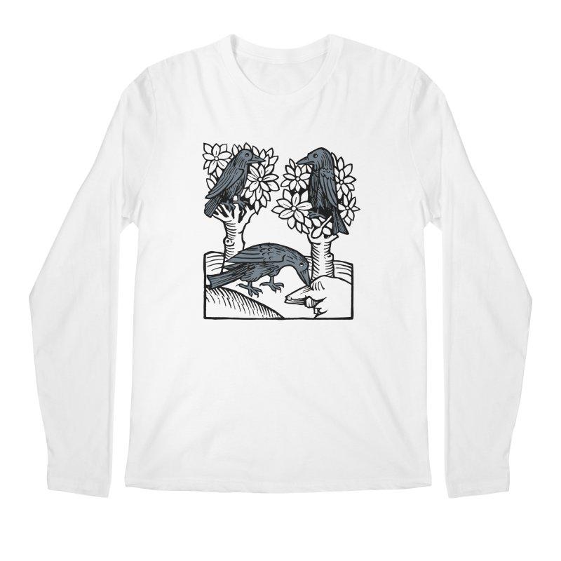 3 Ravens Men's Regular Longsleeve T-Shirt by Supersticery Shop
