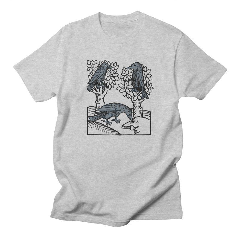 3 Ravens Men's Regular T-Shirt by Supersticery Shop