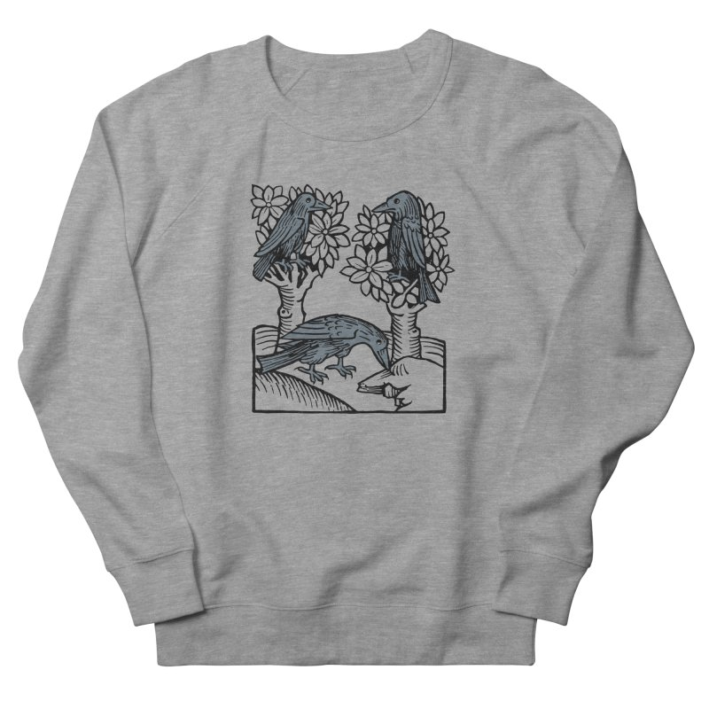 3 Ravens Women's French Terry Sweatshirt by Supersticery Shop