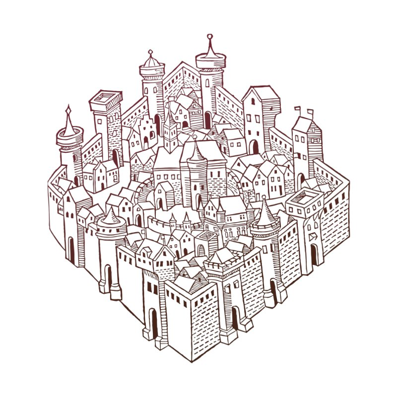 City Squared by Supersticery Shop