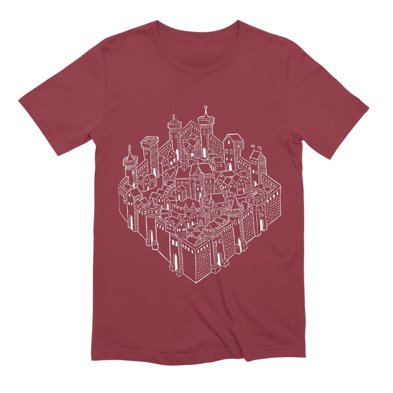 White City Men's Extra Soft T-Shirt by Supersticery Shop