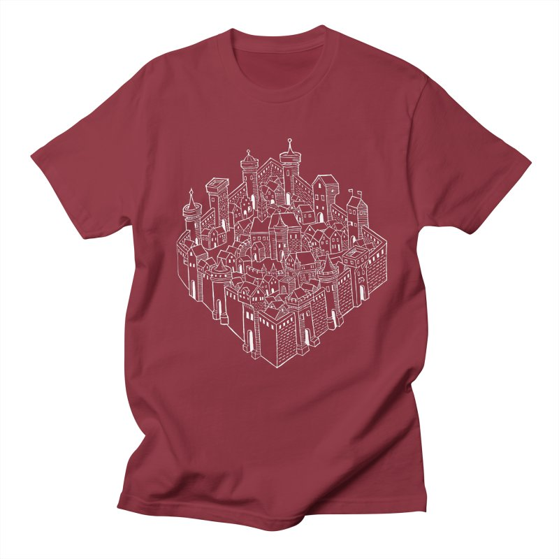White City Men's Regular T-Shirt by Supersticery Shop