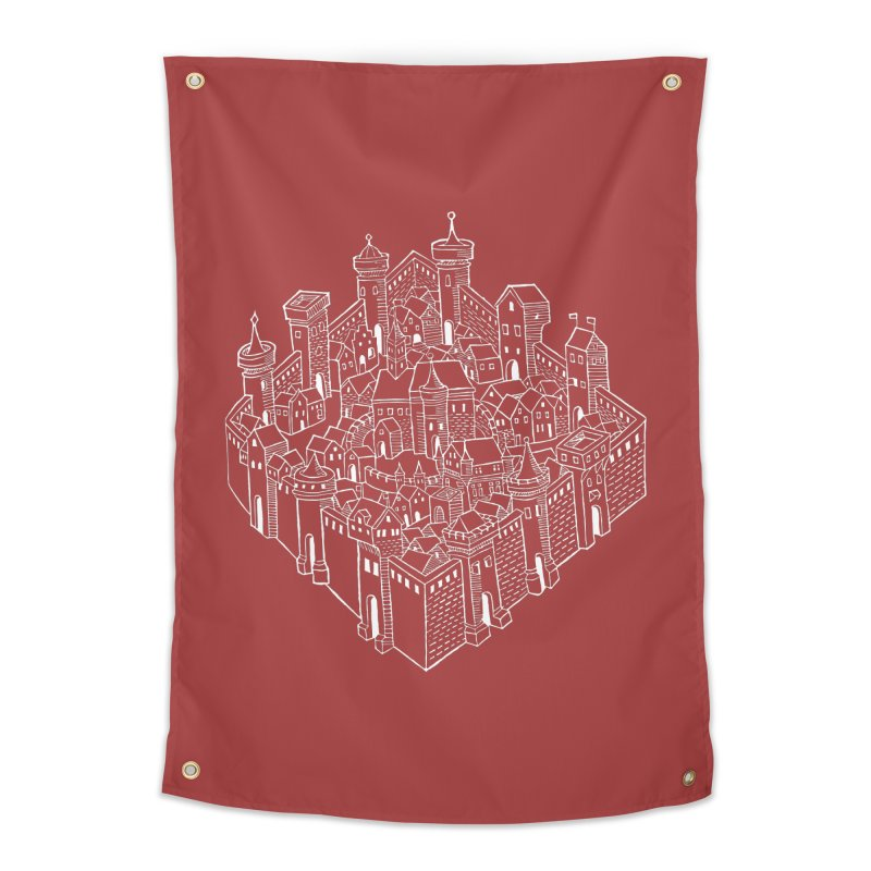 White City Home Tapestry by Supersticery Shop