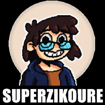 SuperZikoure's Artist Shop Logo
