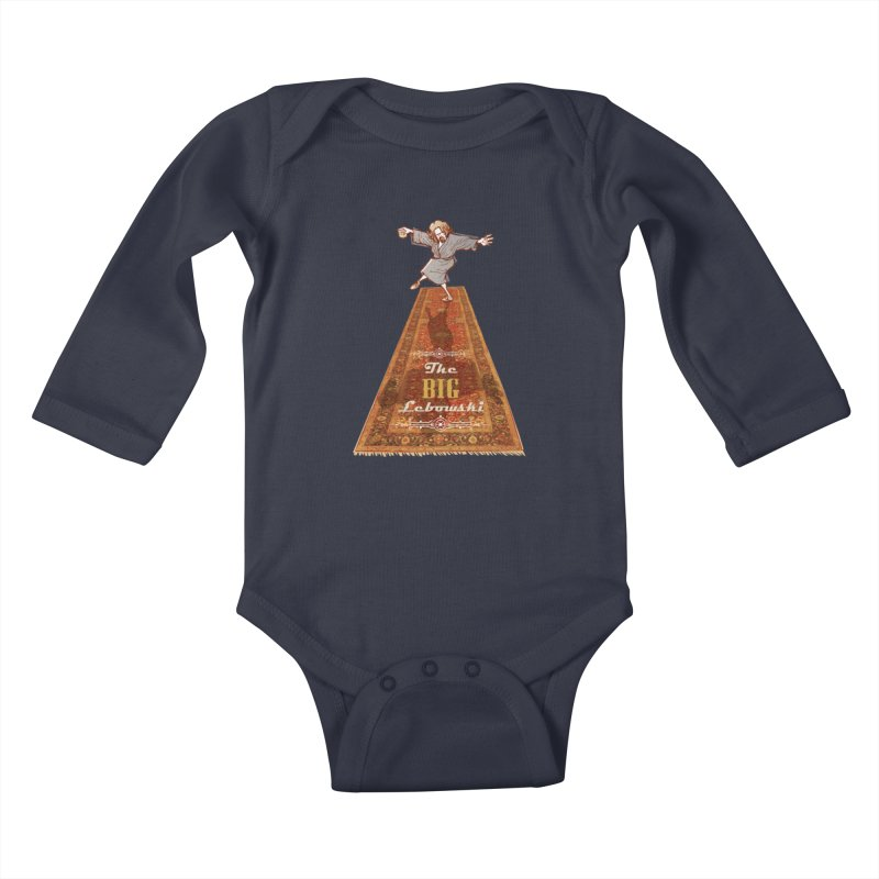 This Tshirt really ties the room together Kids Baby Longsleeve Bodysuit by supmon's Artist Shop