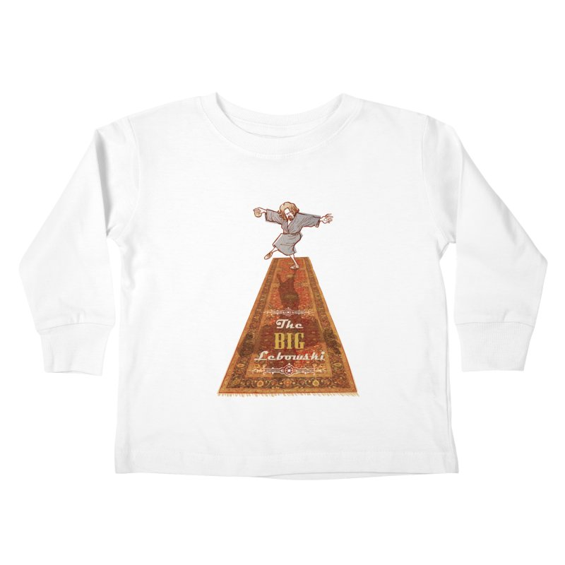 This Tshirt really ties the room together Kids Toddler Longsleeve T-Shirt by supmon's Artist Shop