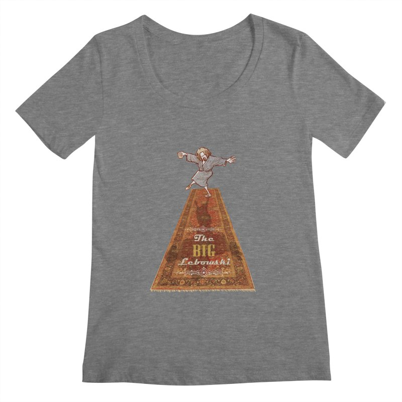 This Tshirt really ties the room together Women's Scoopneck by supmon's Artist Shop