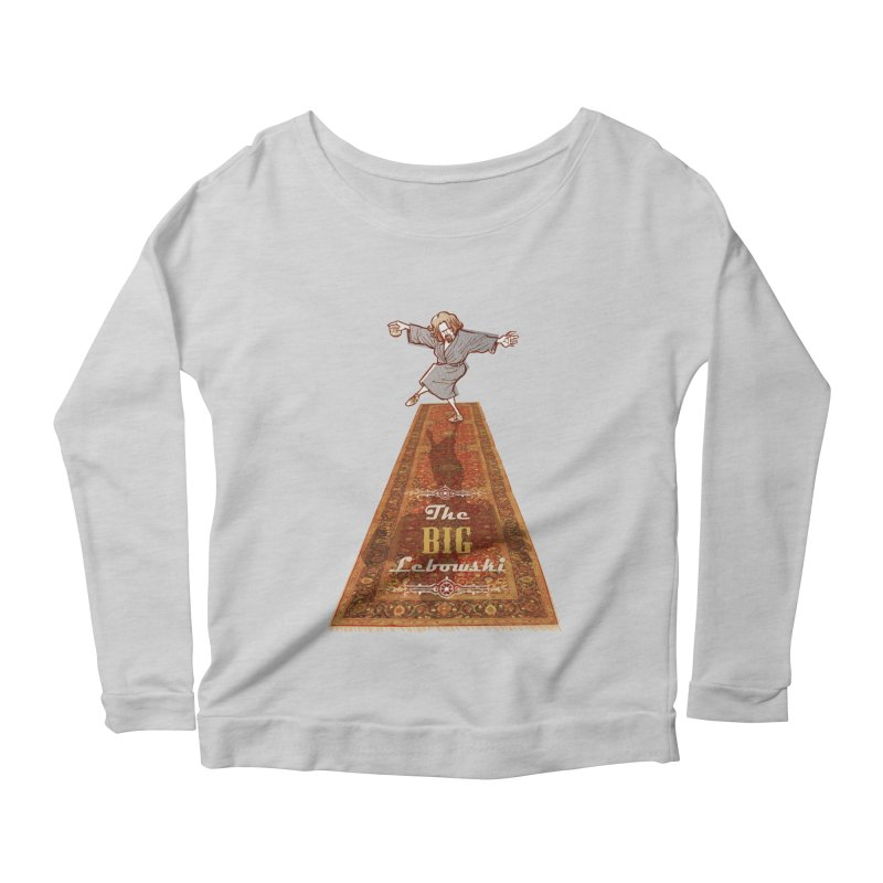 This Tshirt really ties the room together Women's Longsleeve Scoopneck  by supmon's Artist Shop