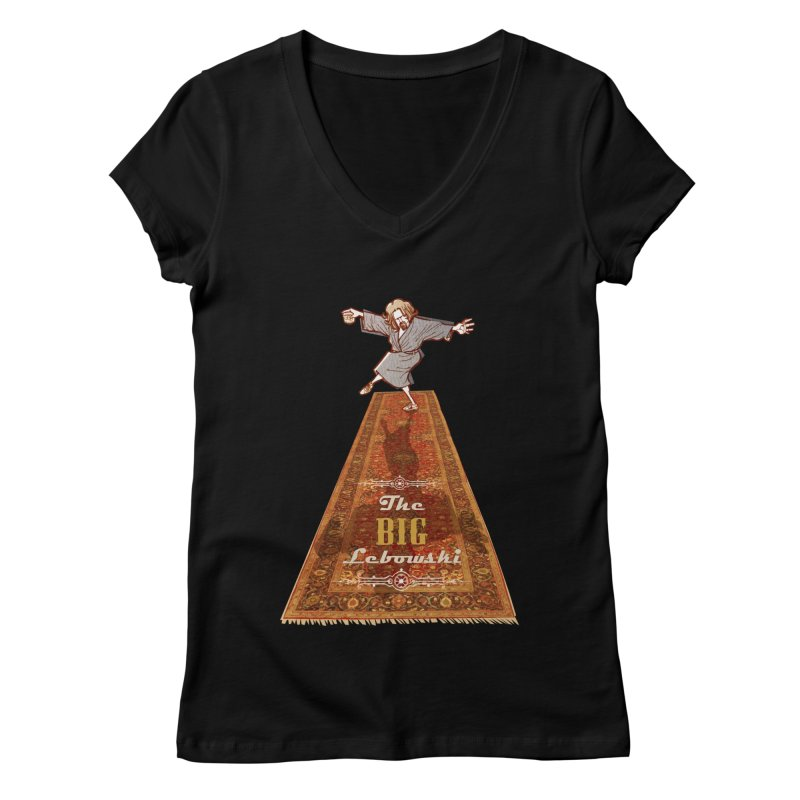 This Tshirt really ties the room together Women's V-Neck by supmon's Artist Shop