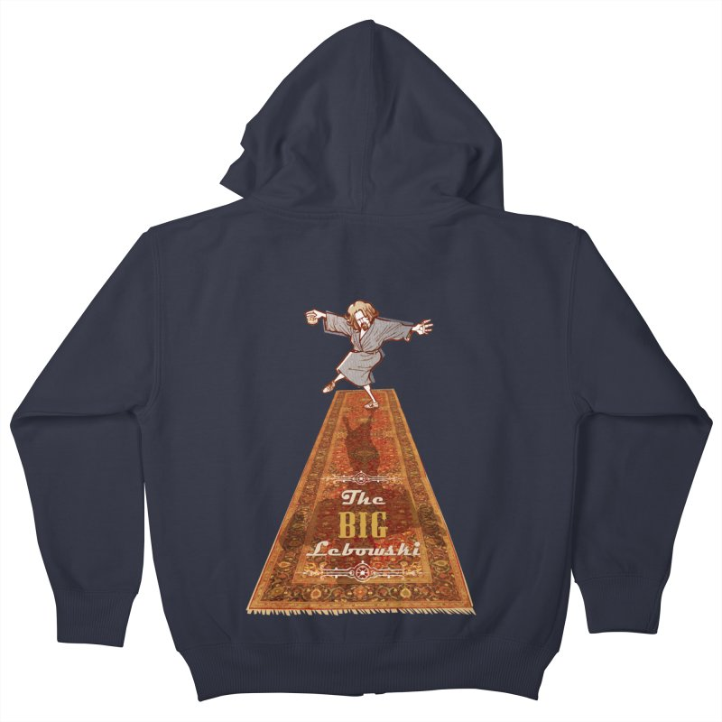 This Tshirt really ties the room together Kids Zip-Up Hoody by supmon's Artist Shop