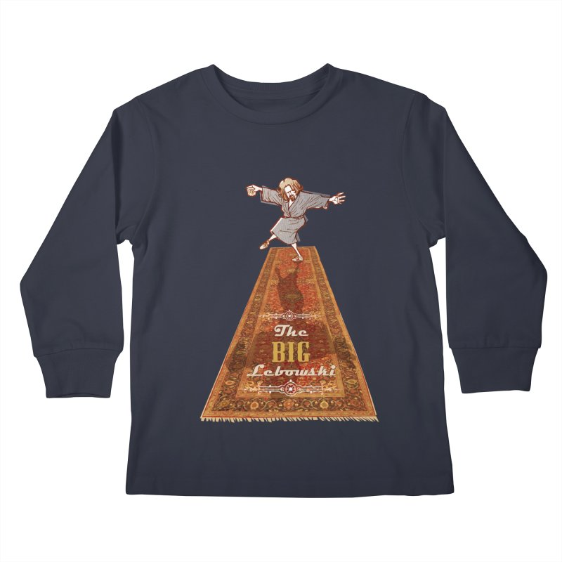 This Tshirt really ties the room together Kids Longsleeve T-Shirt by supmon's Artist Shop