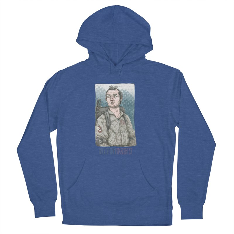 Back off Man, I'm a Scientist  Men's Pullover Hoody by supmon's Artist Shop