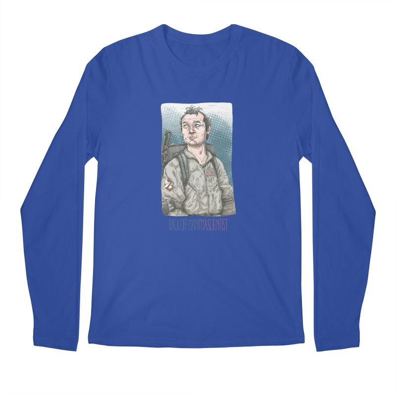Back off Man, I'm a Scientist  Men's Longsleeve T-Shirt by supmon's Artist Shop