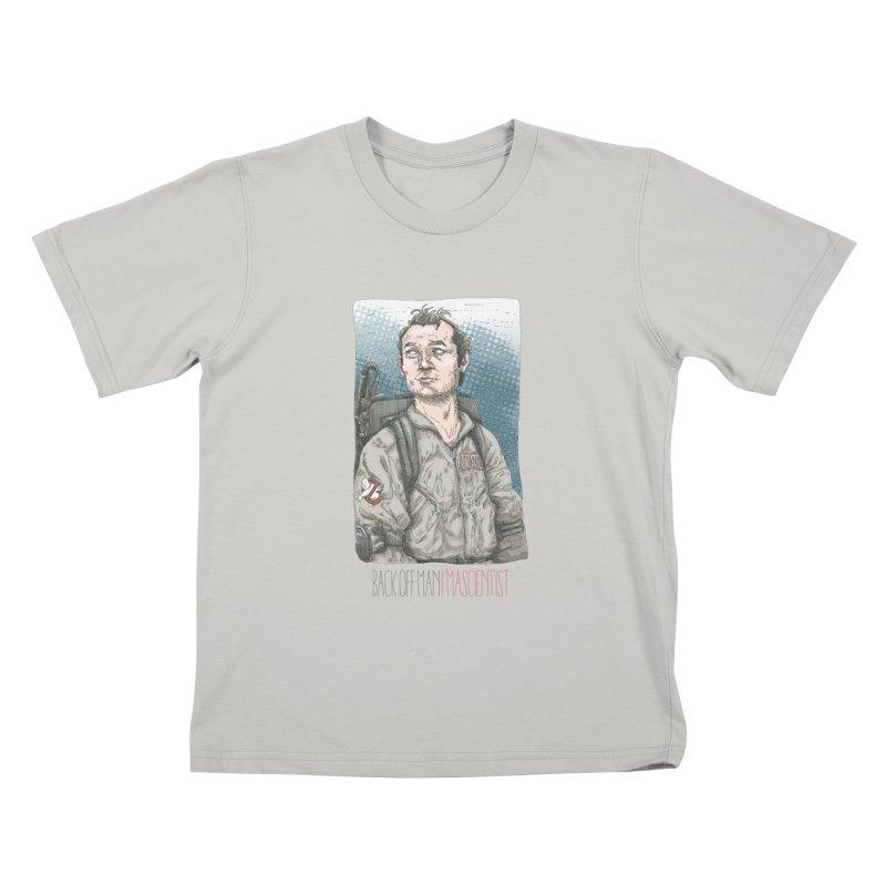 Back off Man, I'm a Scientist  Kids T-shirt by supmon's Artist Shop