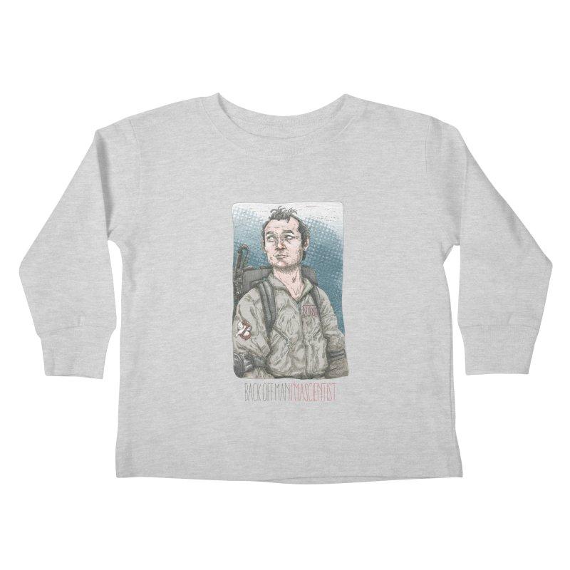 Back off Man, I'm a Scientist  Kids Toddler Longsleeve T-Shirt by supmon's Artist Shop