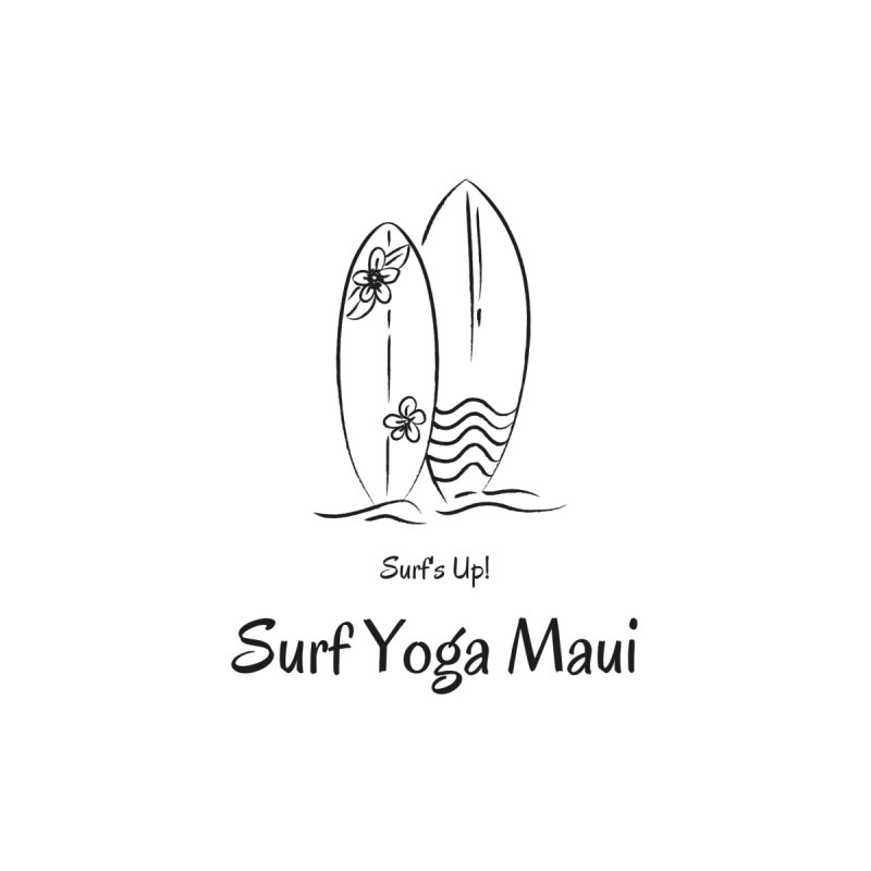 Surf's Up! Accessories Bag by Surf Yoga Maui - Merch Store