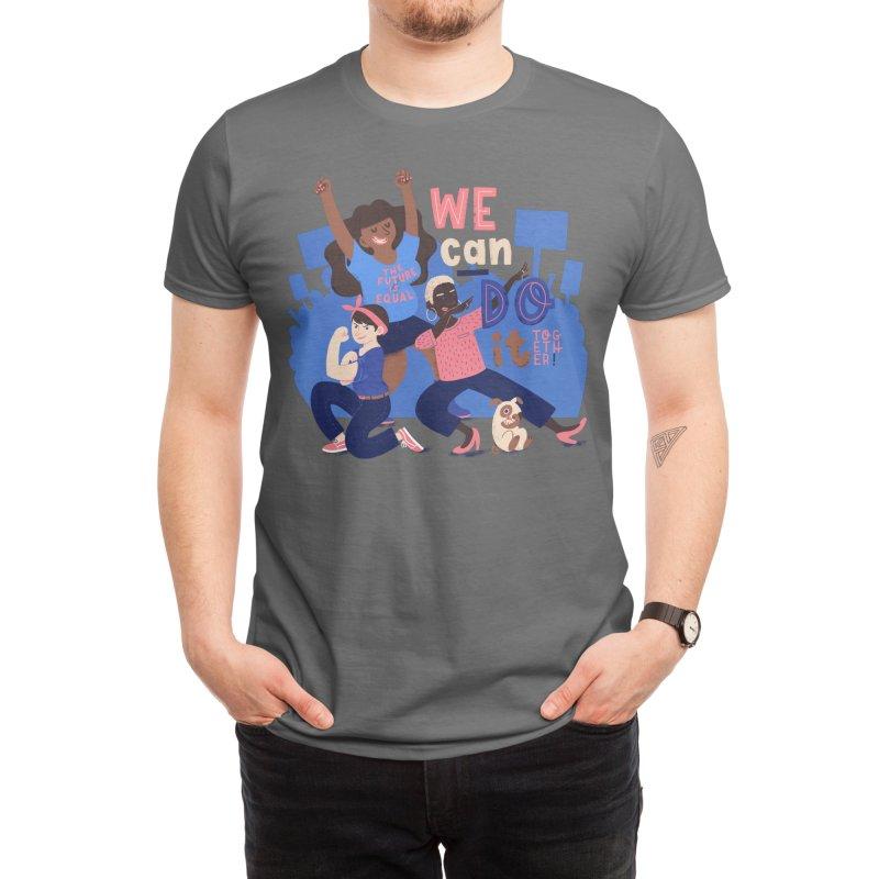 We Can Do It (Together) Men's T-Shirt by Susann Hoffmann