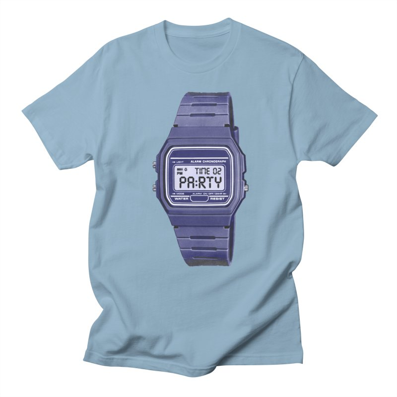 What Time Is It? Men's T-Shirt by Sushilove's Store