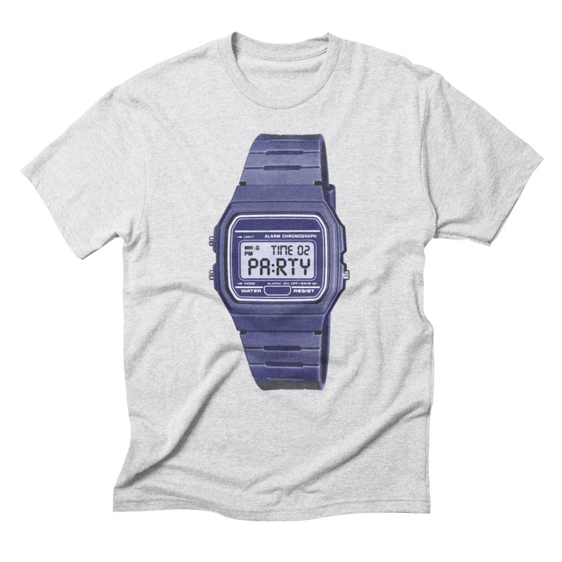 What Time Is It? Men's Triblend T-Shirt by Sushilove Official Store