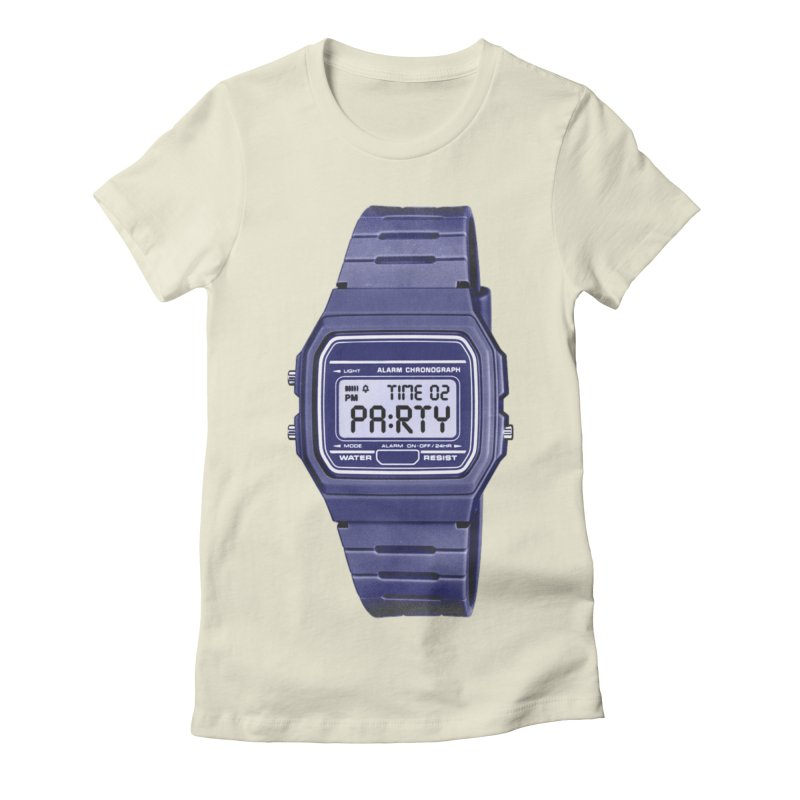 What Time Is It? Women's Fitted T-Shirt by Sushilove Official Store