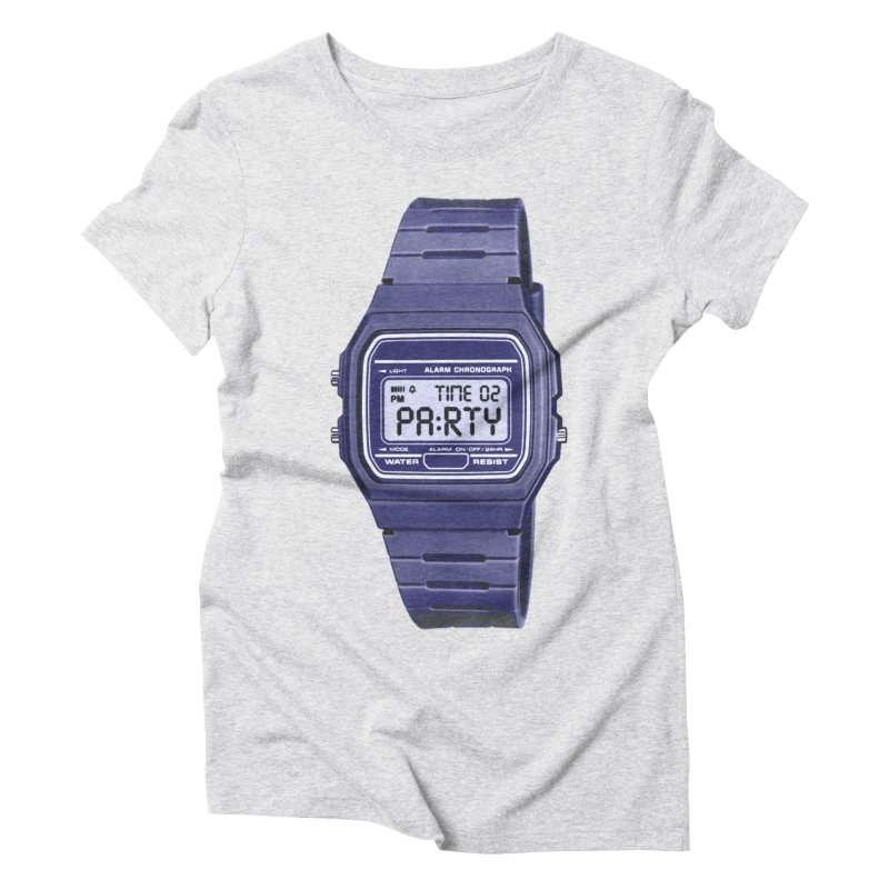 What Time Is It? Women's Triblend T-shirt by Sushilove Official Store