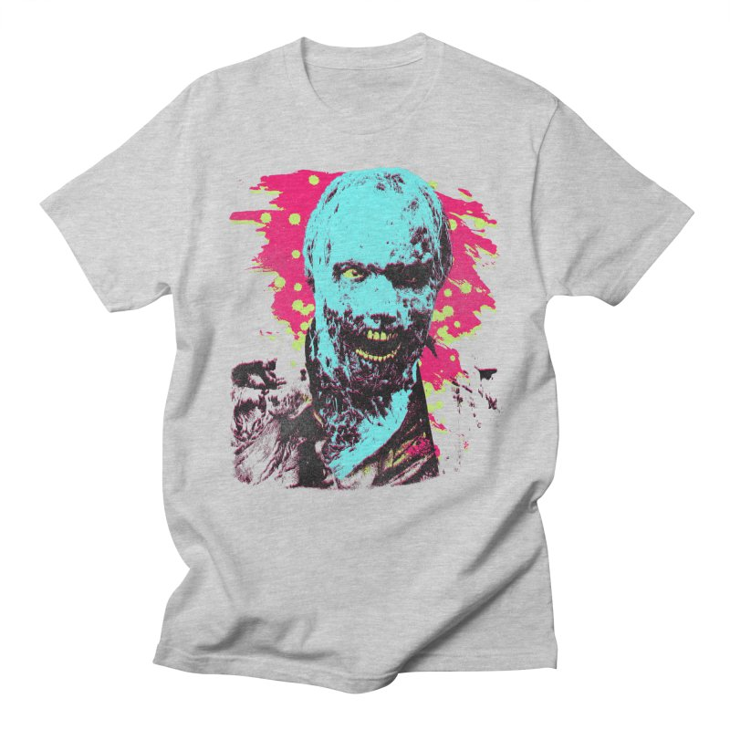 Pop Zombie Men's Regular T-Shirt by Sushilove's Store