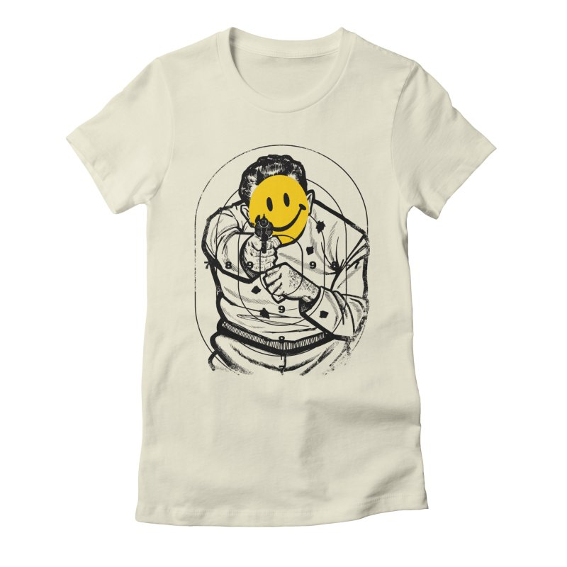 Smile! Women's Fitted T-Shirt by Sushilove Official Store