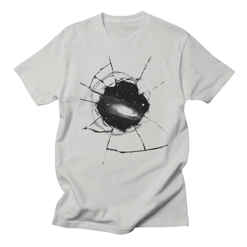 Space Breach in Men's T-shirt Stone by Sushilove Official Store
