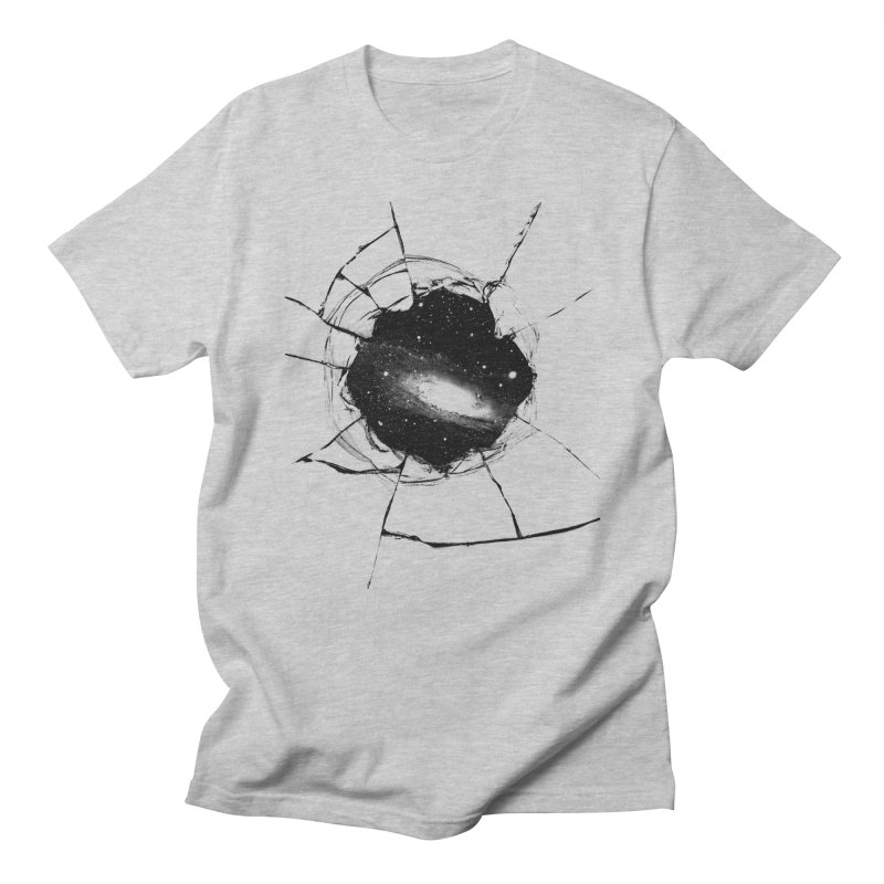 Space Breach Men's Regular T-Shirt by Sushilove's Store