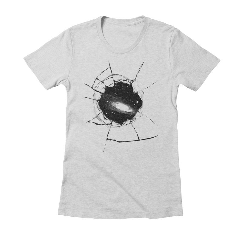 Space Breach Women's Fitted T-Shirt by Sushilove Official Store