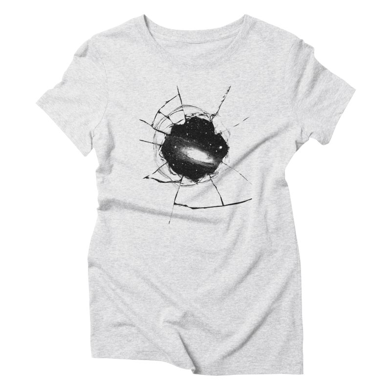 Space Breach Women's Triblend T-Shirt by Sushilove's Store
