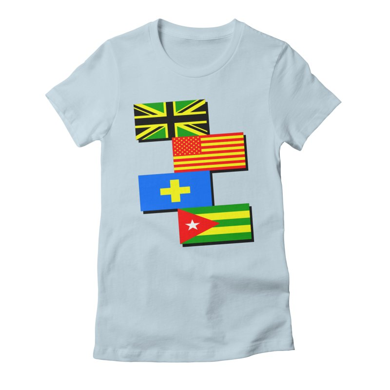 United Nations Women's Fitted T-Shirt by Sushilove Official Store