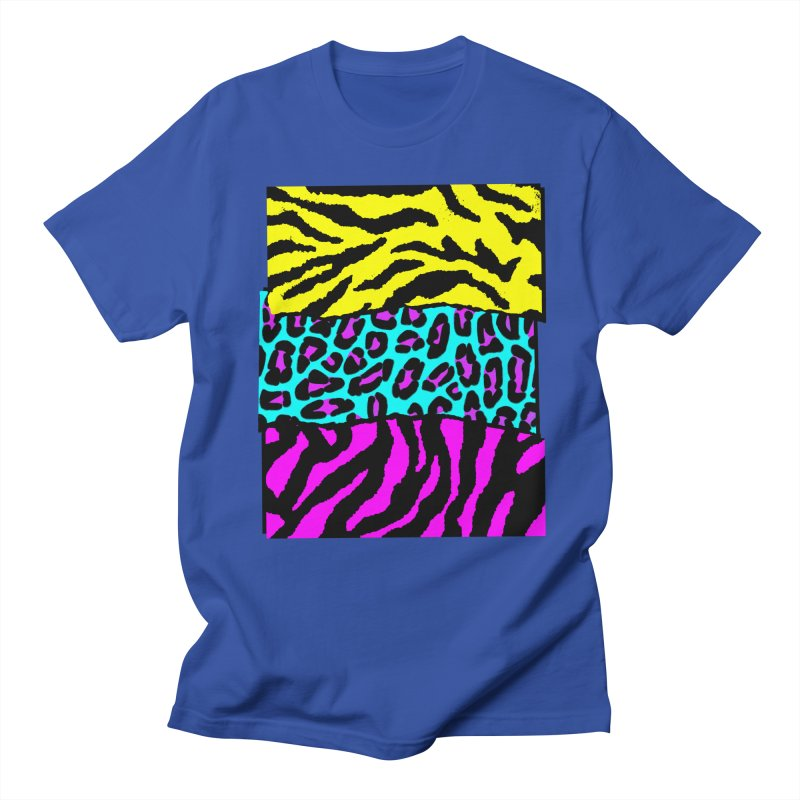 Wyld Animals in Men's T-Shirt Royal Blue by Sushilove Official Store