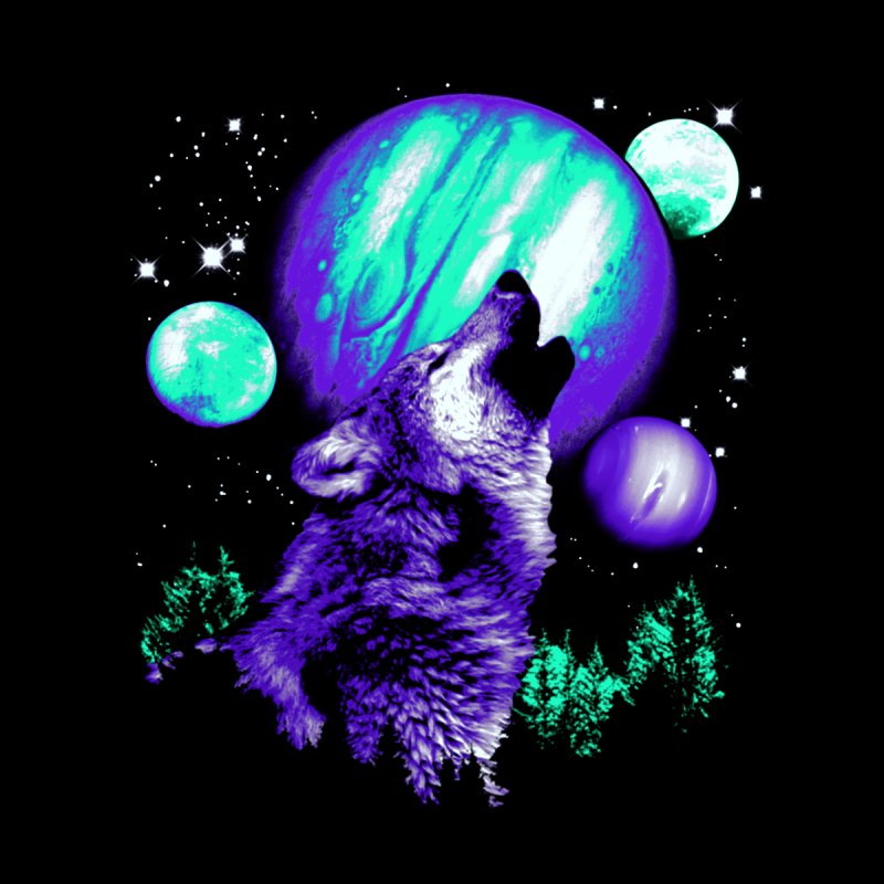 Space Wolf by Sushilove Official Store